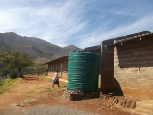 Water tank at St Peters primary (2)